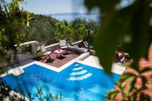Ferienhaus Dalmatien Pool