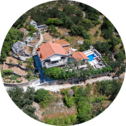 Villa Dalmatia with Pool and sea view